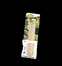 Sticketiketter trä, 10 cm